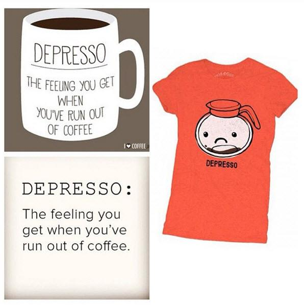Depresso Tee online! http://t.co/iObChEYLMj #coffee #davidandgoliath #caffeine #awake #energy #espresso  #morningjoe http://t.co/cMU5BcBmut