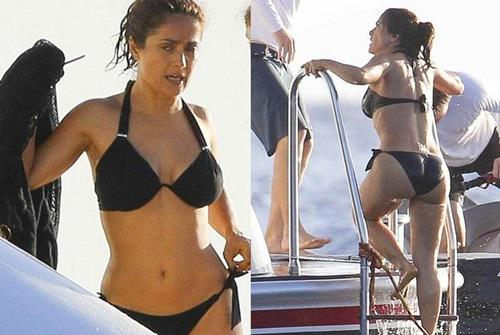 Años OpinasScoopnest HayekEntérate Salma Bikini Sexy OZXukiP