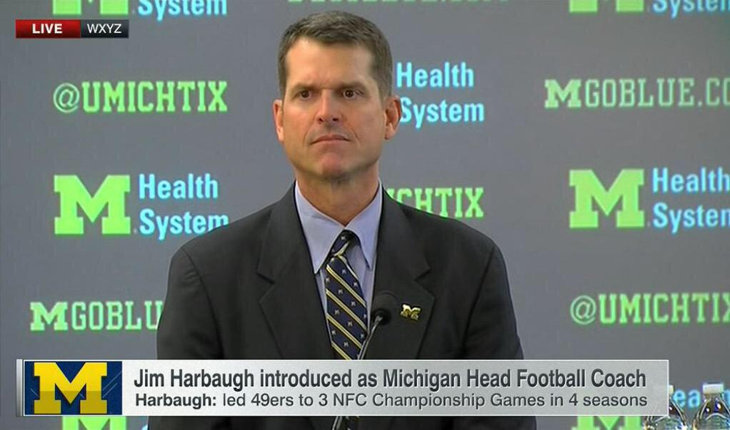 Cammy B On Twitter Does Anyone Else Think Jim Harbaugh And Daniel