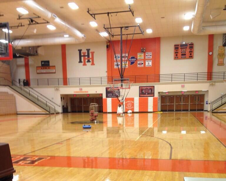 hoosier temples on twitter quotindiana high school gym size