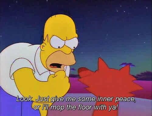 The simpsons on twitter look just give me some inner for Floor me meaning