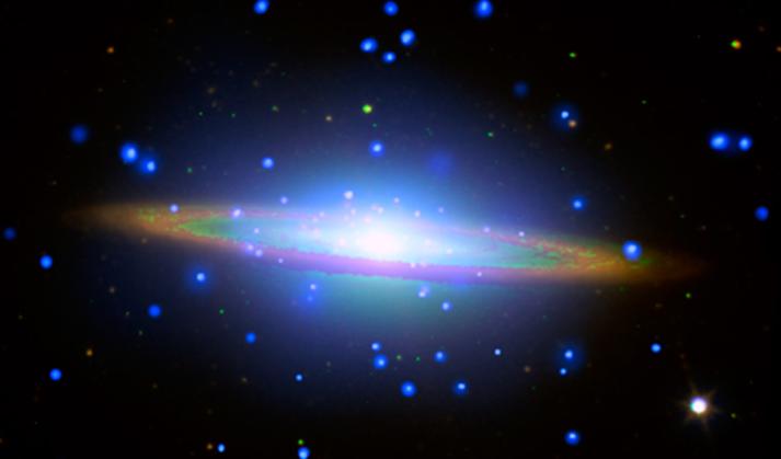 The 'Sombrero Galaxy' is not what it seems. http://t.co/RLxulRShfu @NASA_Hubble @NASAspitzer @chandraxray http://t.co/JuzT3lu6N3