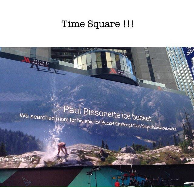 When Google spells your name wrong and chirps you in Time Square....