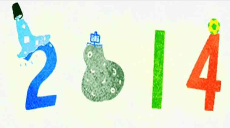 Doodle Google San Silvestro 2014