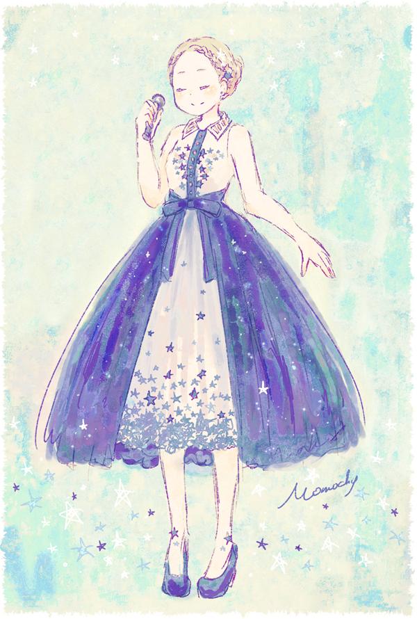 ドレス 可愛い イラスト , ギャラリーイラスト