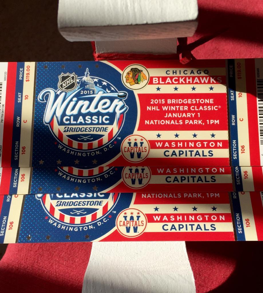 Winter Classic biljetterna