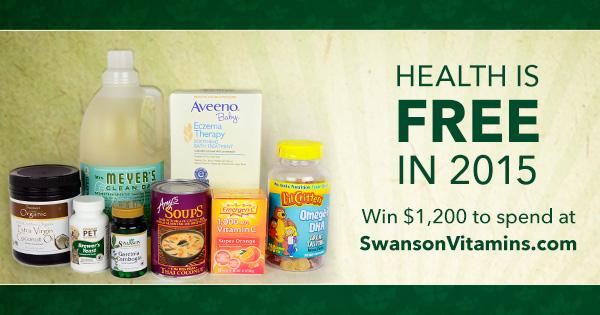 It doesn't have to be expensive to stay healthy.  Enter now to win $1,200 to @SwansonVitamins http://t.co/LdyYix2kRh http://t.co/XbJ9rcf9SU