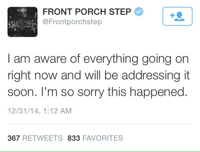 Front porch step sexual harassment tumblr