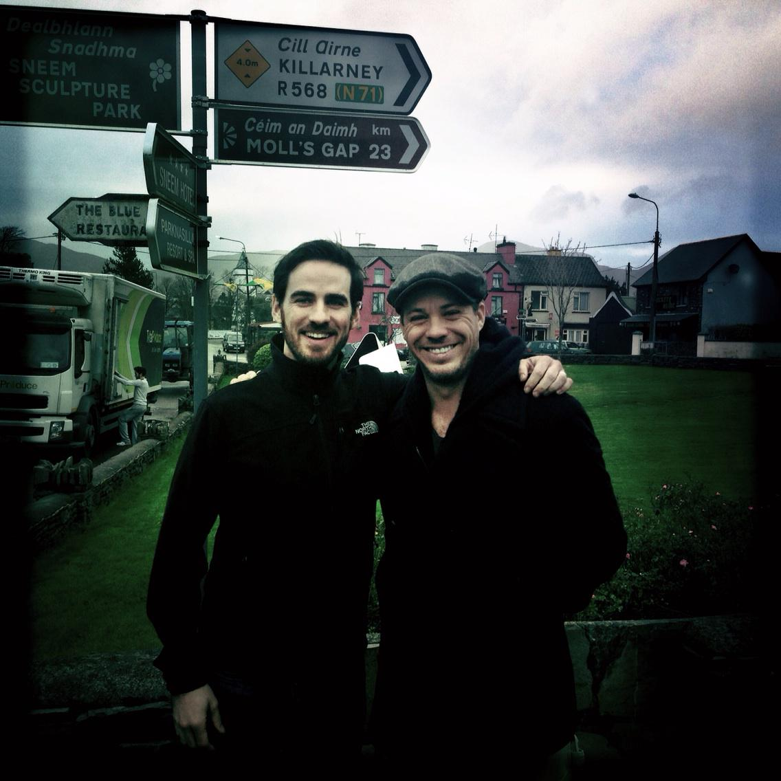 With @colinodonoghue1 in Ireland. Tight like Peaky Blinders http://t.co/v0rNUTTK20