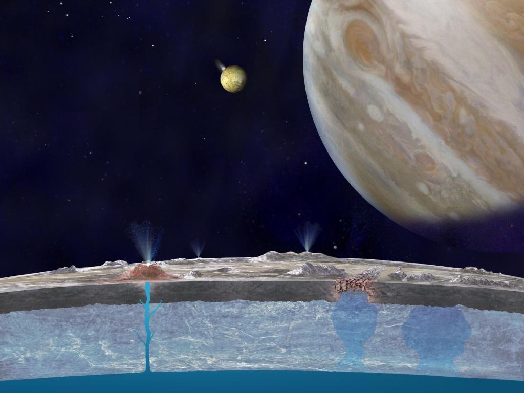 """Spazio NASA: missione robotica verso la luna di Giove """"Europa"""""""