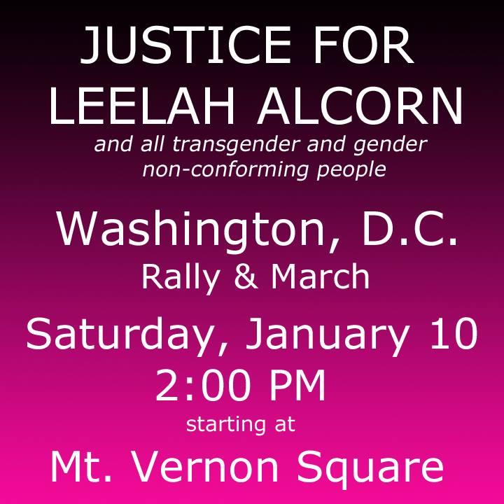 Because #LeelahAlcorn's death must mean something. Because #TransLivesMatter & gender nonconformists deserve justice. http://t.co/dZX0ToJ7IB