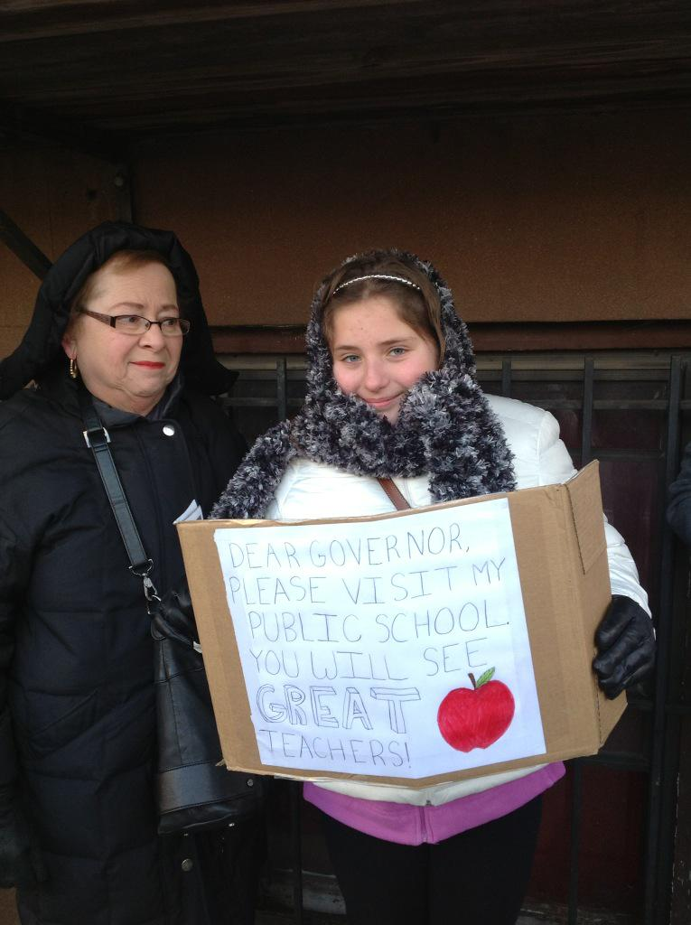 Students know. Parents know. Our educators are great! #calloutcuomo #supportpubliced http://t.co/rFRhJILsX3