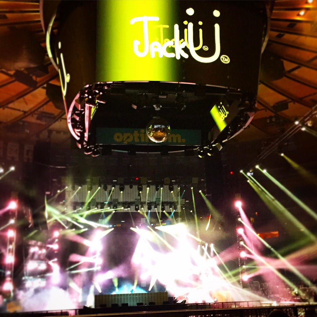 What ya know about soundcheckzzzz? MSG tonight for jackU @diplo @Skrillex #NYC http://t.co/iOEGL37XwE