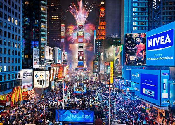 happy new year from times square in nyc beautifulplcs 2015 http