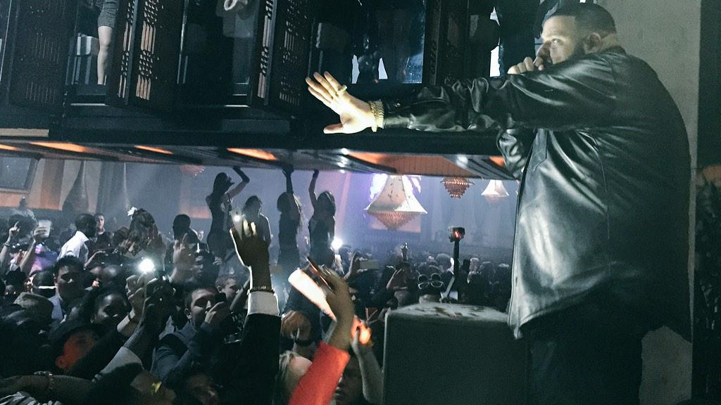 Taking control of the party @djkhaled #NYE2015 http://t.co/Rh60QneYZT