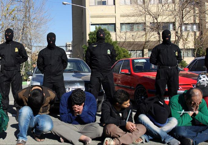 If the regime in Iran is that popular why its repressive forces have to cover their faces. http://t.co/CbWQ23eiTn #Iran #CNN