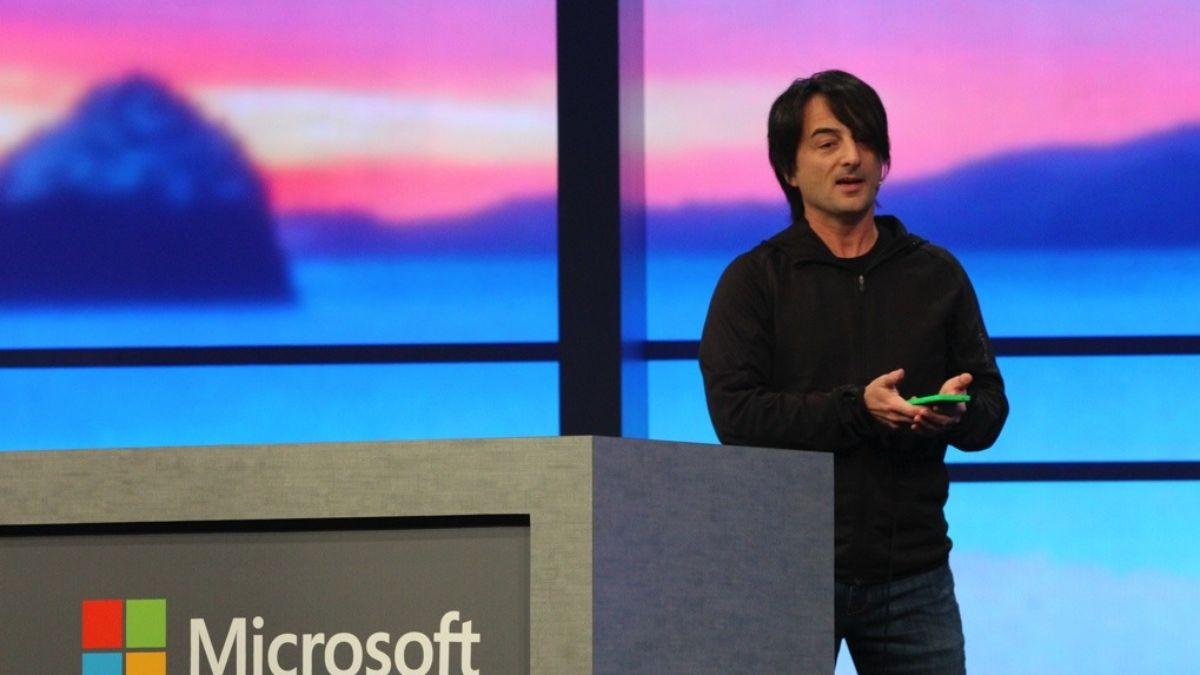Microsoft's Joe Belfiore: