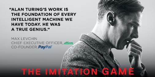 Loved the Imitation Game — celebrating Turing's many amazing achievements. http://t.co/5VLPHqLEdg