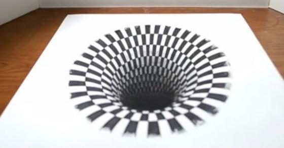 Humo on twitter voor fans van de anamorfische kunst van for Tekenen in 3d