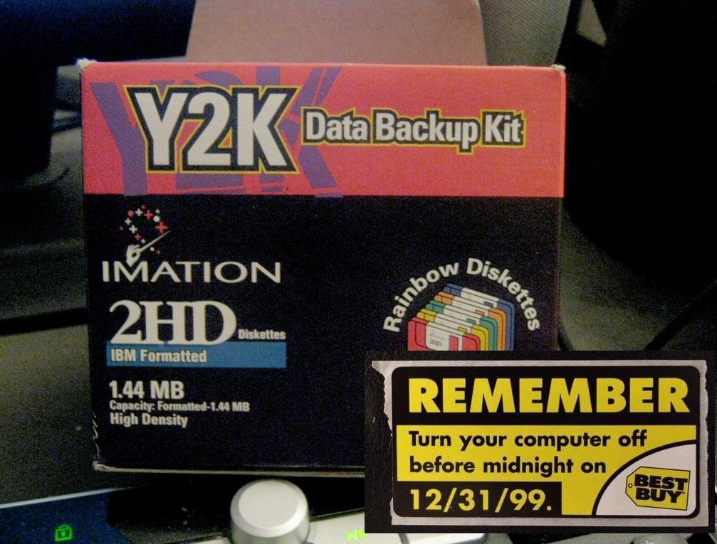 Today is the 15th anniversary of Y2K