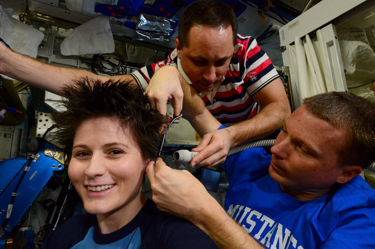 "Samantha Cristoforetti On Twitter ""Voila I Think AstroTerry S"