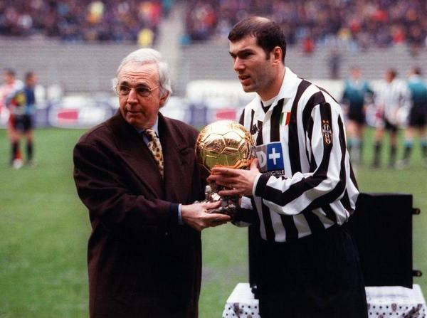 Image result for zidane ballon d'or 1998