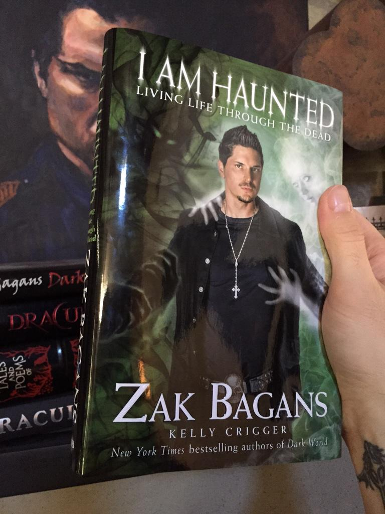 Zak Bagans On Twitter After A Year Of Writing Feels