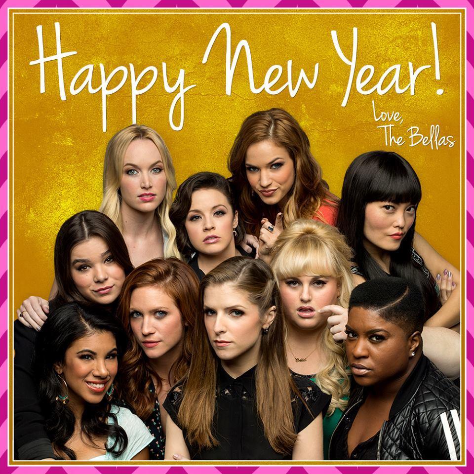"""Happy New Year, I hope it's Aca-mazing! #PitchPerfect2 http://t.co/mAilnnaWYy"""