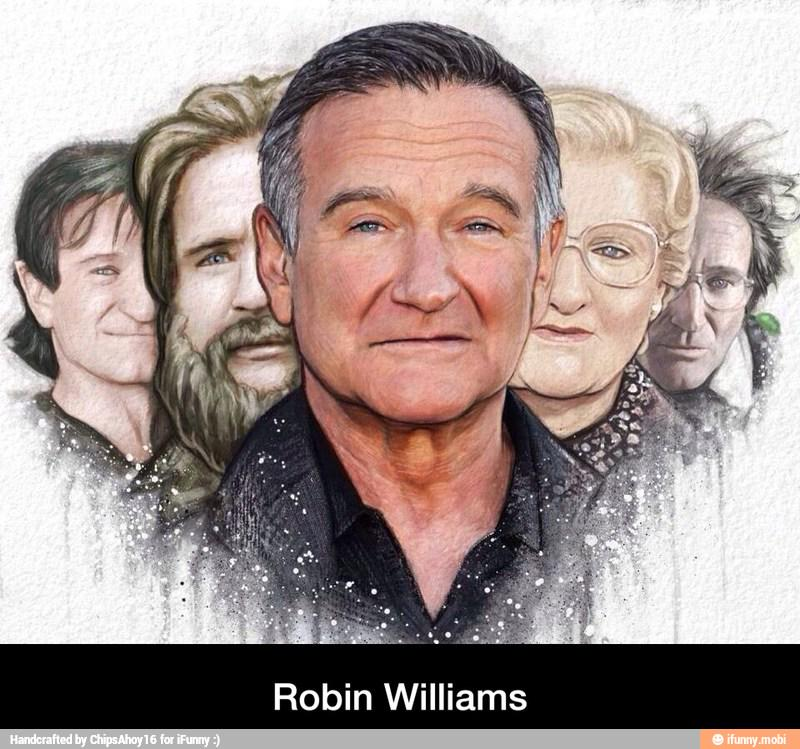 Robin Williams http://t.co/szaGwuCk81 #iFunny http://t.co/LvmJgh6C31