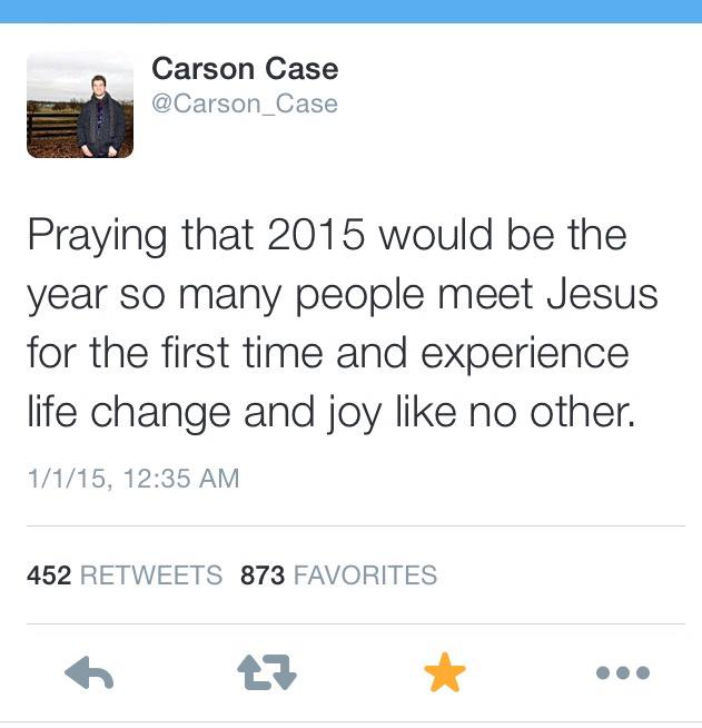 Happy New Year! Let's all pray this together! http://t.co/9ZGghREy58