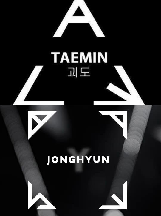 SHINee Solo Album Logo Taemin Ace Jonghyun Base