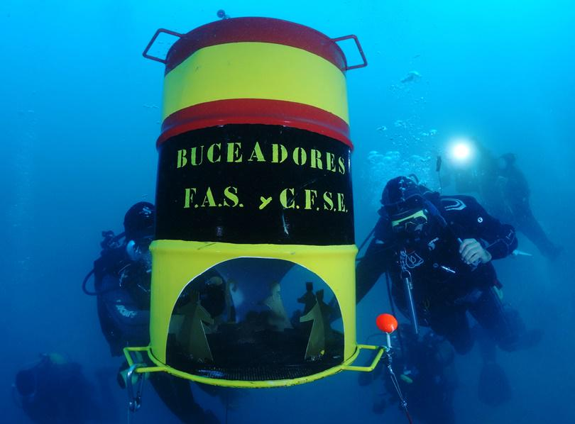 Buceo - Magazine cover