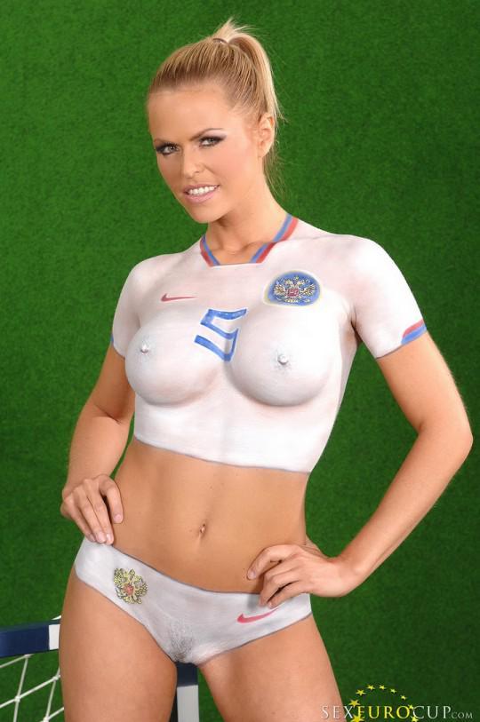 world cup body paint xxx
