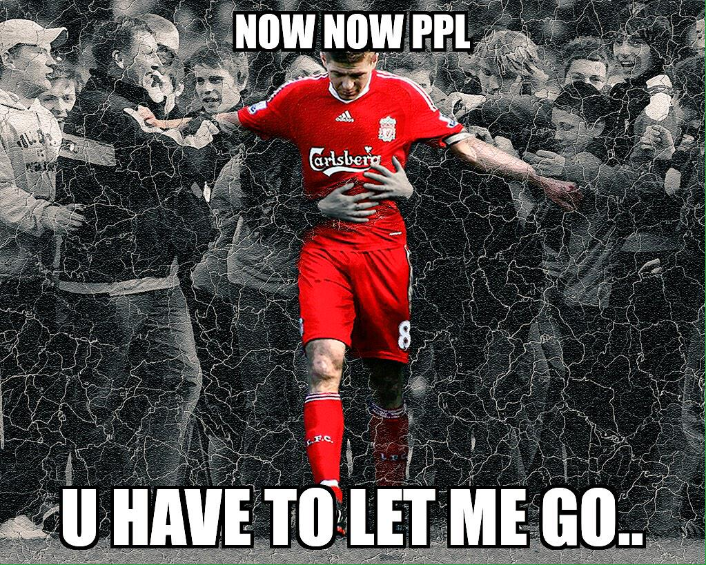 #Sombre morning! I'm sure all my fellow #LFC reds feel like this! A sad day indeed! #StevieG #StevenGerrard #YNWA http://t.co/uM9vxmtcvv