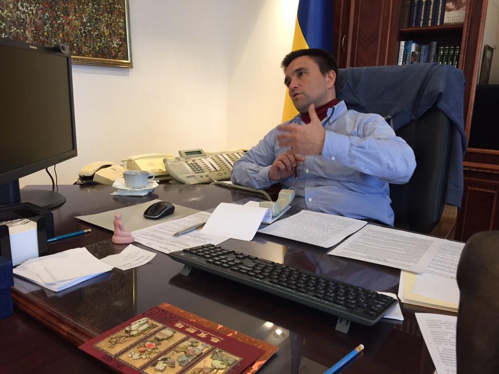Тел. розмова МЗС у нормандському форматі: як покласти край кровопролиттю, відновити спокій на українському Донбасі http://t.co/hQcXmelvOi