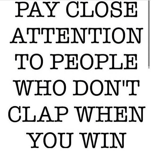 the wins create sore losers, amongst fake friends & enemies, keep ya eyes open people #FoodForThought http://t.co/pe4teXR59r