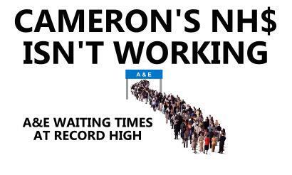 """@grahamemorris: RT ""@SeanGMorris: Cameron's NHS isn't working #GE2015 http://t.co/cZxMYgf6k8"" #RoadToRuin"