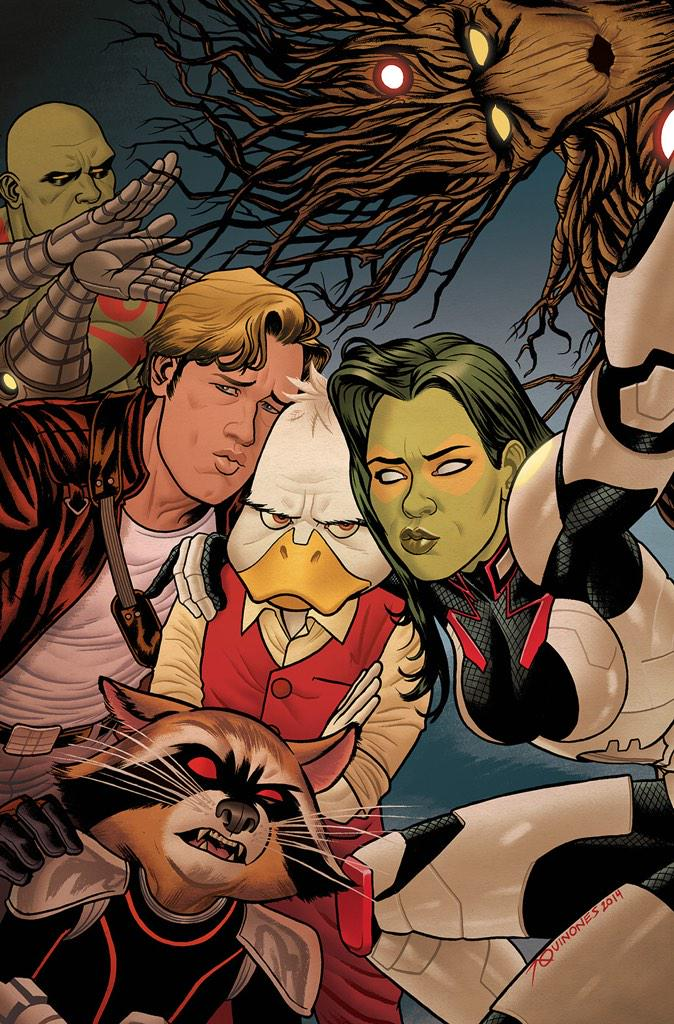 What the DUCK!?! Cover to @zdarsky & @Joe_Quinones' HOWARD THE DUCK #2. http://t.co/vEq1fhmn4y