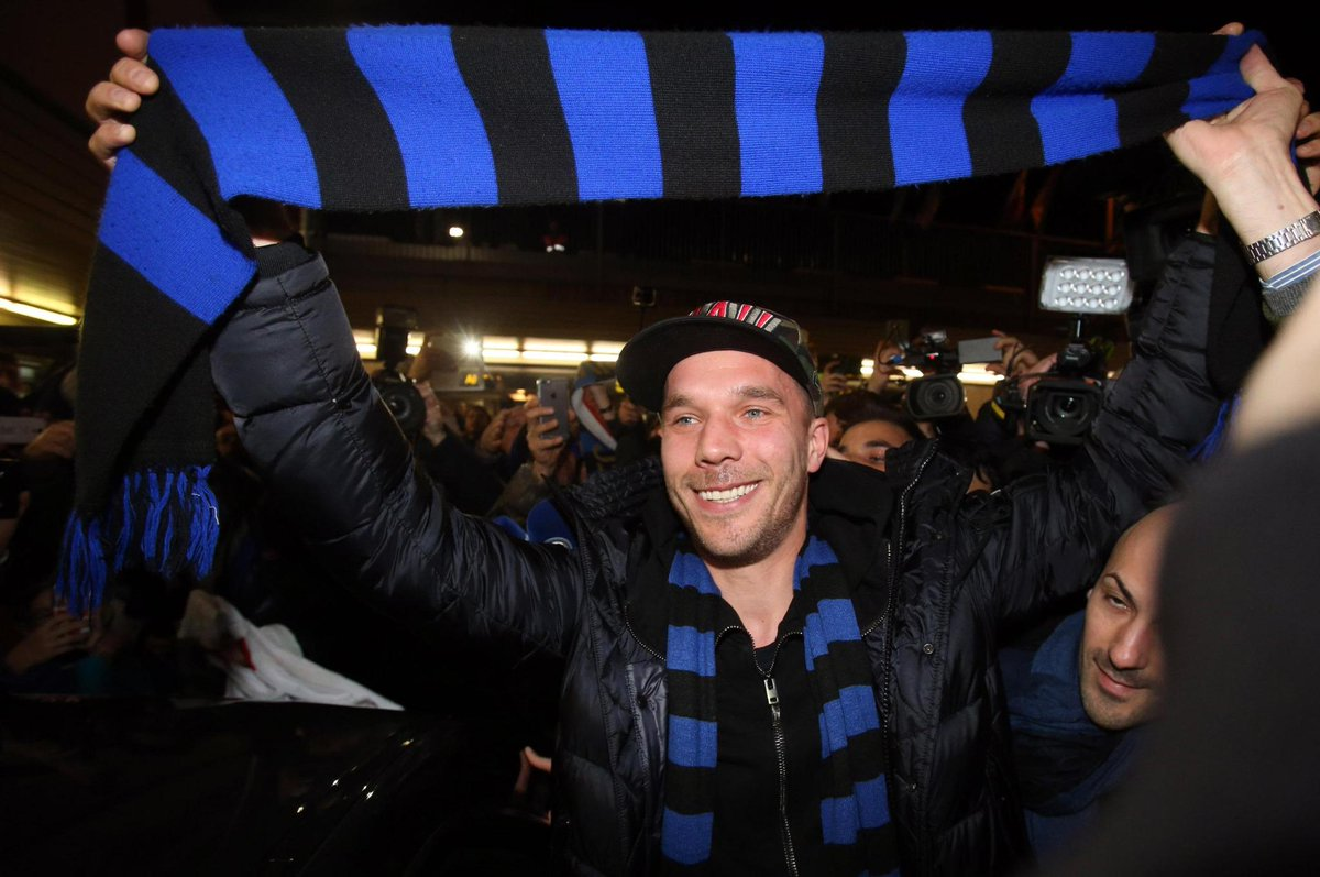 Juventus-Inter: in formazione anche Podolski
