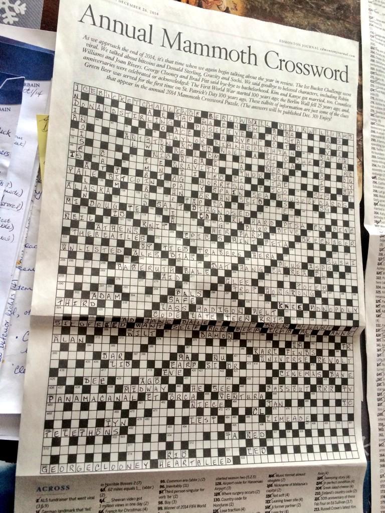 Celebrity gossip TV show crossword clue - Crossword Quiz ...