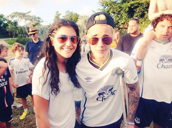 OMG @justinbieber is a Evertonian http://t.co/T8MarITahw