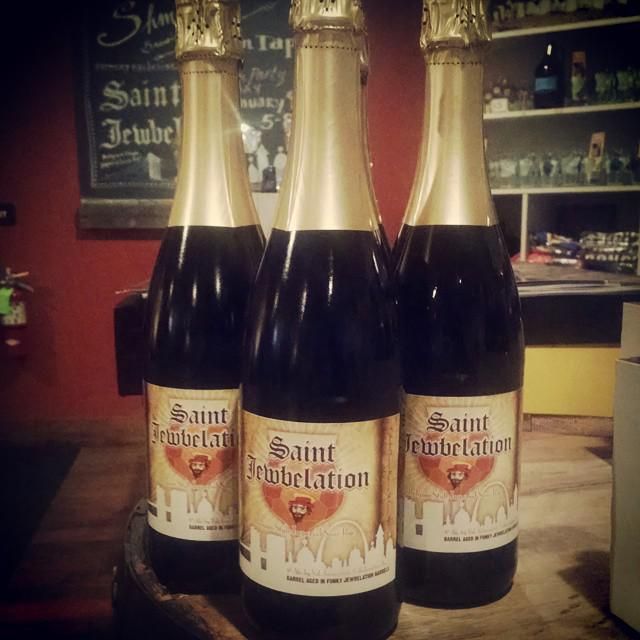 Saint Jewbelation is coming! Fri. January 9, 5-8pm.Tasting room exclusive release! https://t.co/U8siJjytpK http://t.co/yeDctZHuny