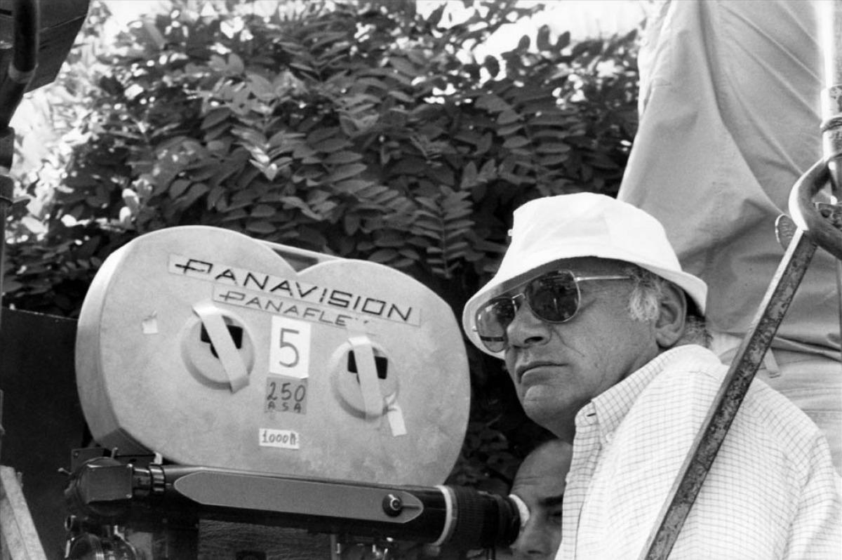 Francesco Rosi dietro la telecamera dei suoi film