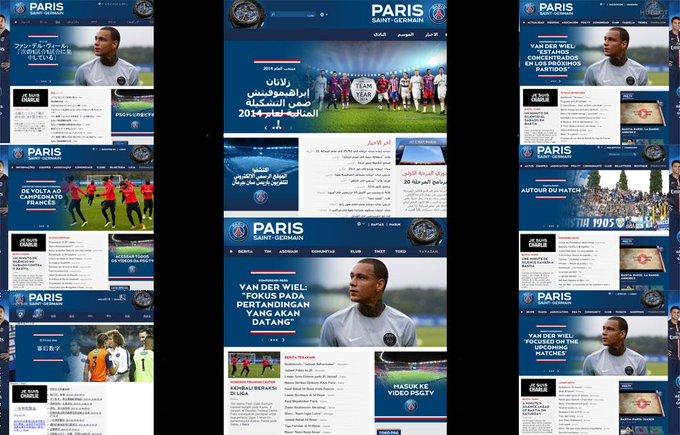 INFO JDD - Le PSG 'est Charlie', sauf sur les versions arabe et indonésienne de son site http://t.co/KHqSOMHbfX #JDD http://t.co/oO0OCrbNDY