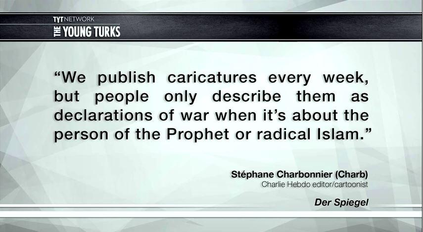 """THIS is why your """"fair and balanced"""" opinion is neither fair, nor balanced. #JeSuisCharlie http://t.co/MVwBznStNO"""