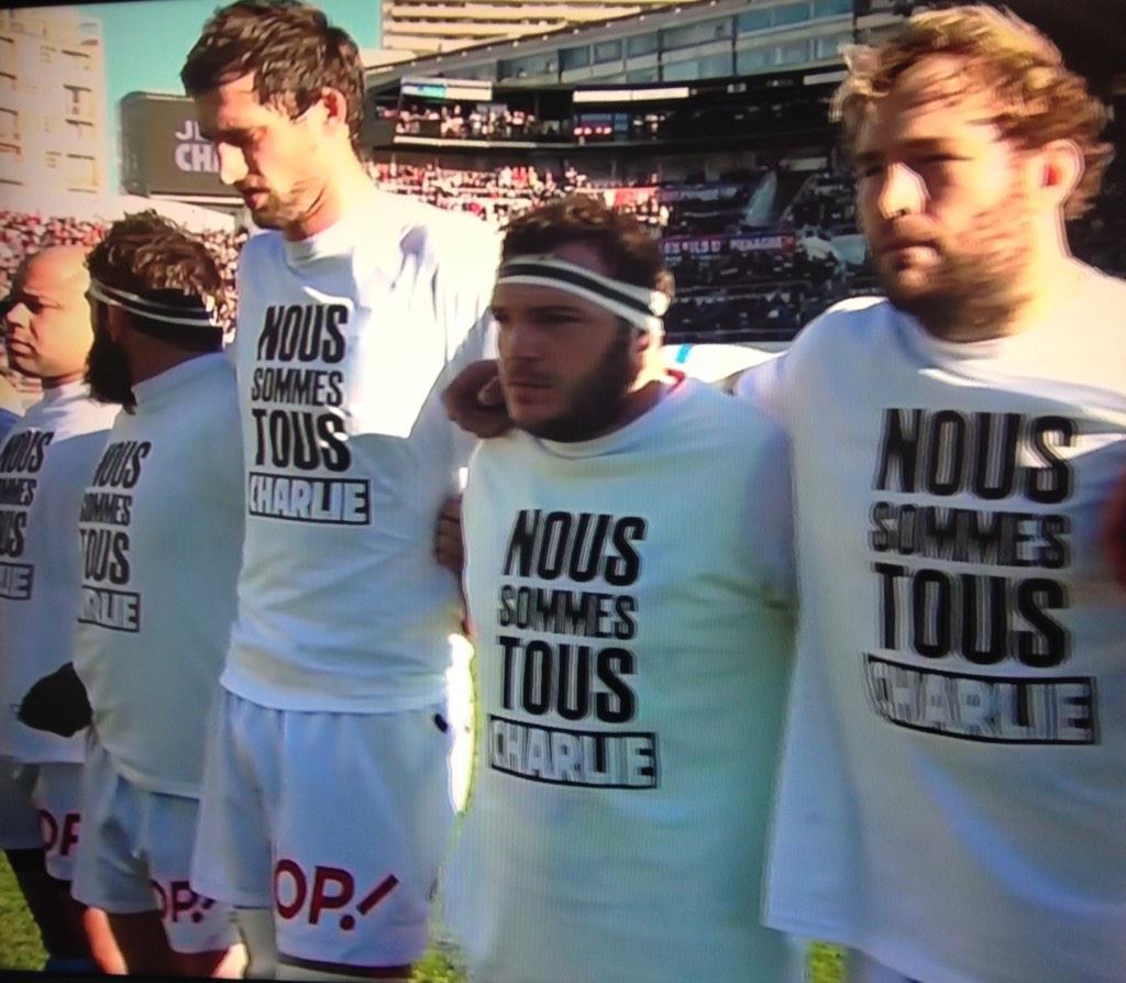 L'hommage du sport à Charlie Hebdo
