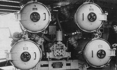 JSF @obiekt_jp 「艦これの魚雷アイコンが現代のMk32三連装短魚雷発射管じゃないかという疑惑」#艦これ #kankore