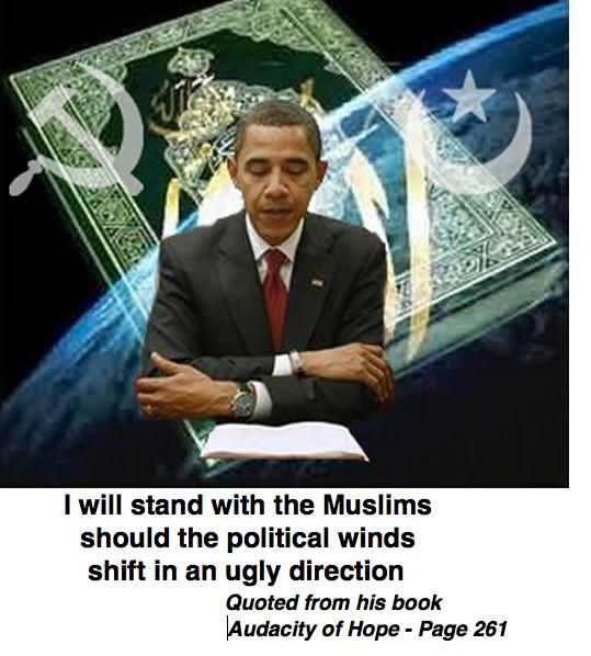 """Image result for """"I will stand with the Muslims should the political winds shift in an ugly direction."""" BHO"""