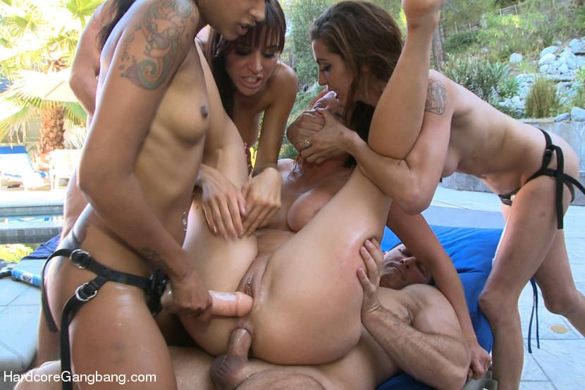 prono dansk gang bang sex