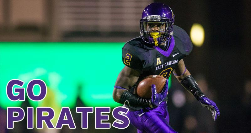 RETWEET if you are pulling for @ECUPiratesFB in the @Birmingham_Bowl http://t.co/PoC9GIDeYc
